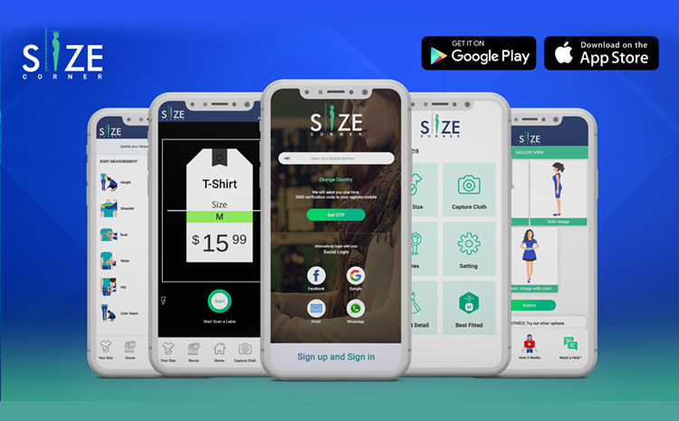 Size Corner – The Mobile APP